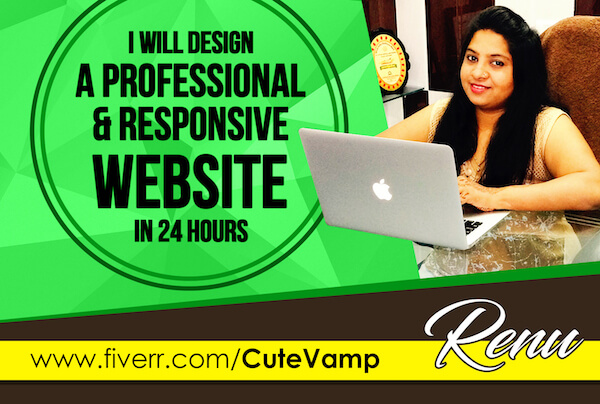 Design professional and responsive website
